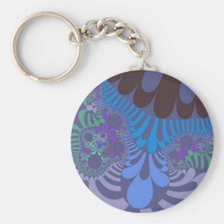 Porte-clés Porte - clé de mod de bleuet