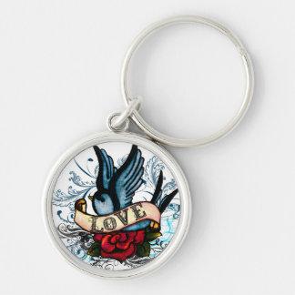 Porte-clés Porte - clé de moineau d'amour