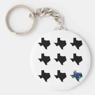 Porte-clés Porte - clé de motif du Texas