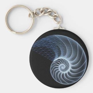 Porte-clés porte - clé de nautilus