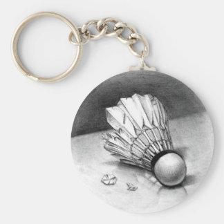 Porte-clés porte - clé de navette de badminton