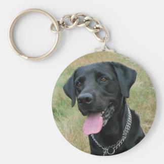Porte-clés Porte - clé de noir de chien de labrador