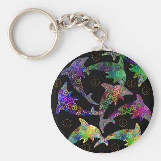 Porte-clés Porte - clé de paix de dauphin