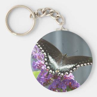 Porte-clés porte - clé de papillon