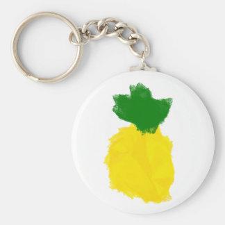 Porte-clés Porte - clé de peinture d'ananas