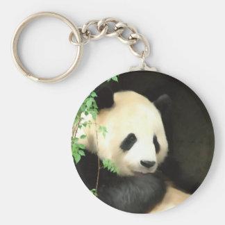 Porte-clés Porte - clé de peinture de panda