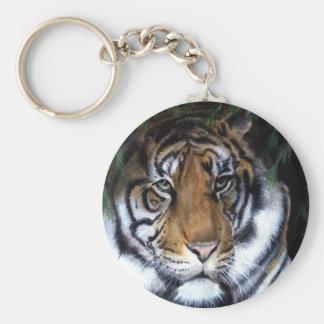 Porte-clés Porte - clé de peinture de tigre