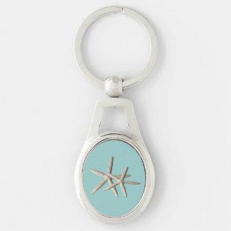 Porte-clés Porte - clé de plage d'étoiles de mer
