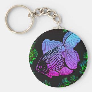 Porte-clés Porte - clé de poisson rouge d'imaginaire