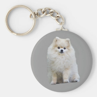 Porte-clés Porte - clé de Pomeranian