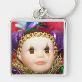 Porte-clés Porte - clé de poupée de mardi gras