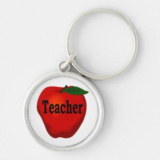 Porte-clés Porte - clé de prime d'Apple de professeur