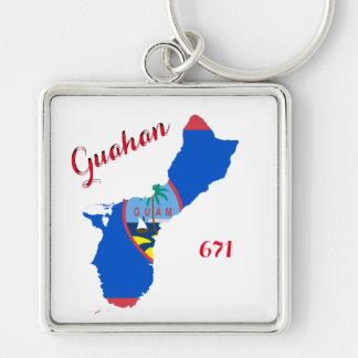 Porte-clés Porte - clé de prime de la fierté 671 de la Guam