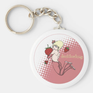 Porte-clés porte - clé de prince de fraise