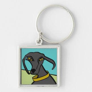 Porte-clés Porte - clé de roche de chiens