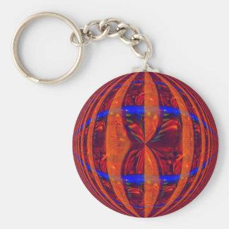 Porte-clés Porte - clé de rouge de globe