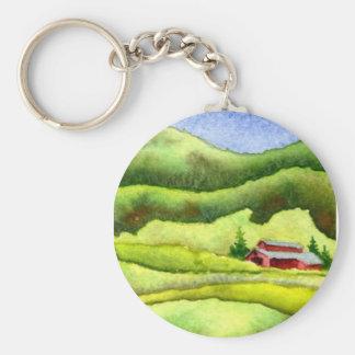 Porte-clés Porte - clé de routes de campagne