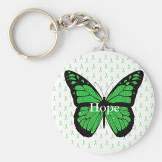 Porte-clés Porte - clé de ruban de conscience de Lyme de