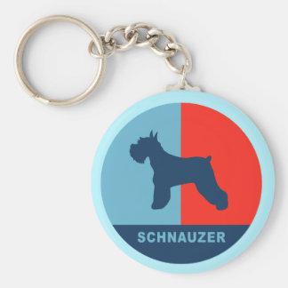 Porte-clés Porte - clé de Schnauzer