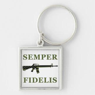 Porte-clés Porte - clé de Semper Fidelis M16 modéré