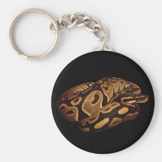 Porte-clés Porte - clé de serpent de python de boule