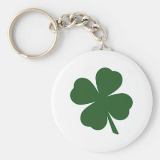 Porte-clés Porte - clé de shamrock de trèfle de feuille du