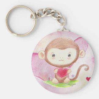 Porte-clés Porte - clé de singe de V-Jour