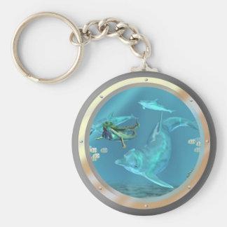 Porte-clés porte - clé de sirène