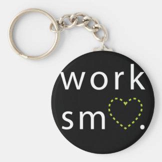 Porte-clés Porte - clé de Smart de travail