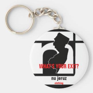 Porte-clés porte - clé de sortie de jeruz du NU