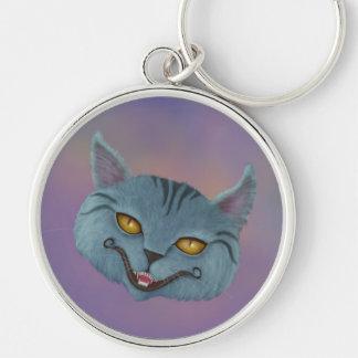 Porte-clés Porte - clé de sourire de chat de Cheshire