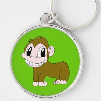 Porte-clés Porte - clé de sourire de chimpanzé