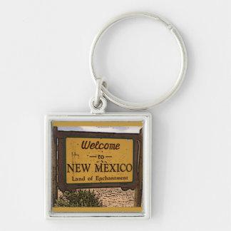 Porte-clés Porte - clé de souvenir de signe bienvenu du