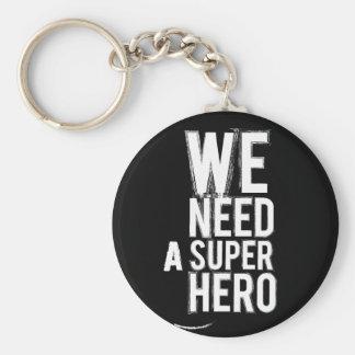 Porte-clés porte - clé de super héros