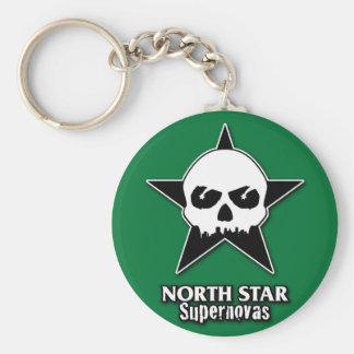 Porte-clés Porte - clé de supernovas de filles de rouleau