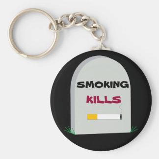 Porte-clés porte - clé de tabagisme de mises à mort
