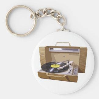 Porte-clés Porte - clé de tourne-disque