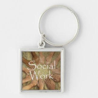 Porte-clés Porte - clé de travail social