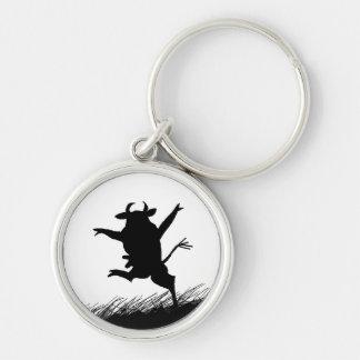 Porte-clés Porte - clé de vache à danse