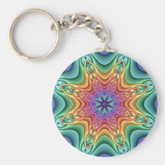 Porte-clés Porte - clé décoratif de kaléidoscope