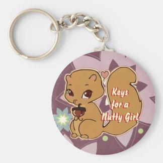 Porte-clés Porte - clé d'écureuil de Cutie