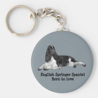 Porte-clés Porte - clé d'épagneul de springer anglais