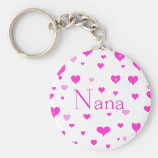 Porte-clés Porte - clé des coeurs de Nana