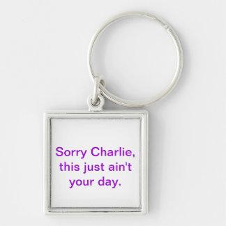 Porte-clés Porte - clé désolé de Charlie