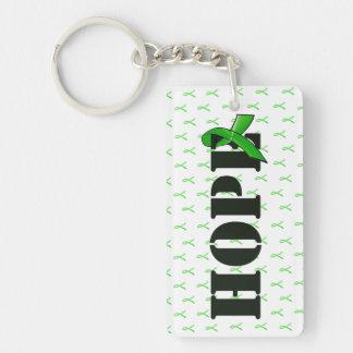 Porte-clés Porte - clé d'espoir de conscience de la maladie