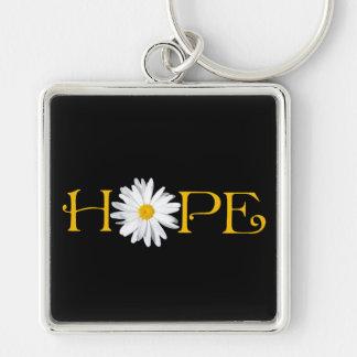 Porte-clés Porte - clé d'espoir de marguerite de Shasta