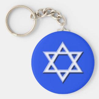 Porte-clés Porte - clé d'étoile de David