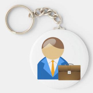 Porte-clés Porte - clé d'homme d'affaires et de serviette