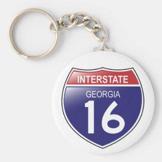 Porte-clés Porte - clé d'I-16 la Géorgie
