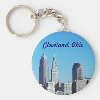 Porte-clés Porte - clé d'icônes de tour de Cleveland, Ohio